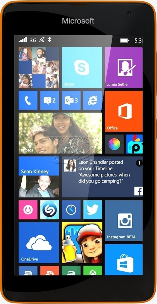 Смартфон Microsoft Lumia 535 Orange